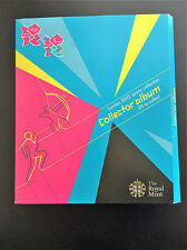 London 2012 Olympics 50p sports collection Collector Album Full Mint Set