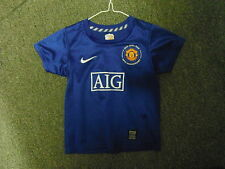 Manchester United Extra Small Boys 3/4 Yrs 98 - 104cm Away Football Shirt
