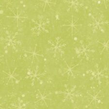 Light Olive Tonal Santa's On His Way By The yard Cotton