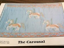 FANCY STICHES SMOCKING PLATE # 013 THE CAROUSEL