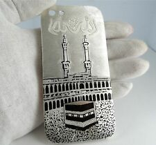 STERLING SILVER IPHONE 5S CASE AND KAABA NATURAL ROUND DIAMONDS ENAMEL - VIDEO