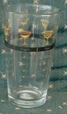 BRAND NEW  Glass Drink Mixer with Recipe Transfer Pattern BRAND NEW