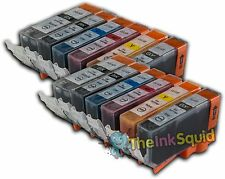 12 PGI-525/CLI-526 Compatible Ink Cartridges (inc. GREY) for Canon Pixma MG6150