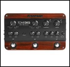 Fishman Tonedeq AFX Preamp Acoustic Guitar , EQ, and DI Effects Pedal