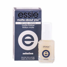 ESSIE GEL TOP COAT MATTE ABOUT YOU MATTE FINISHER