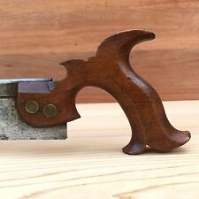 PREMIUM Quality SHARP! BARBER & GENN 1820 DOVETAIL SAW Antique Vintage Tool #126