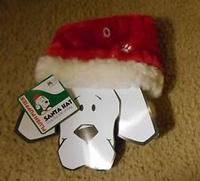 Small Santa Hat, Santa Costume head band, SM, Dog Christmas hat,