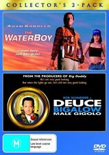 The Waterboy and Deuce Bigalow Male Gigolo  DVD = 2 DISC COLLECTOR'S = REGION 4