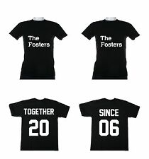 Together Since Couples T- Shirts Love Marriage Anniversary