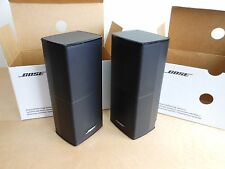 BRAND NEW 2 x Bose Double Cube Series II Direct Reflecting Speakers  - Black