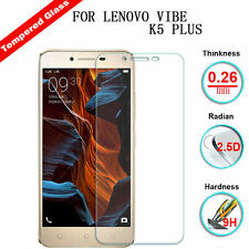 Top 9H Premium Real Tempered Glass Film Screen Protector For Lenovo VIBE K5 Plus