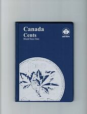 Uni-Safe Canadian Canada 1 Cent Penny Coin Album Folder Blank - No Date