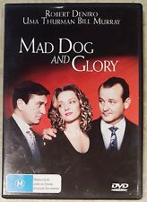 Mad Dog and Glory (Robert De Niro) DVD in EXCELLENT condition (Region 2/4 PAL)
