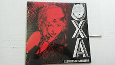 U.X.A. - Illusions of Grandeur NEW/SEALED 1980 PUNK Reissue AVENGERS X