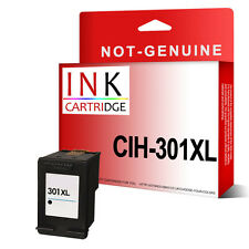 1 NON-OEM Black Reman Ink Cartridge For hp Deskjet 1000 1050A 3000 3050A  301 XL