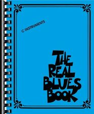The Real Blues Book Sheet Music C Instruments Real Book Fake Book NEW 000240264