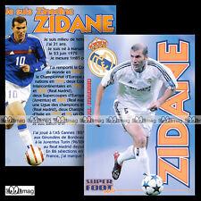 ZIDANE ZINEDINE (REAL MADRID) - Fiche Football SF / Calcio
