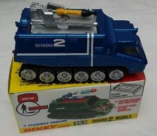 DINKY 353 SHADO 2 MOBILE FULLY RESTORED WITH REPRODUCTION DISPLAY BOX..
