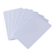 3 RFID NFC Transponder Card Karte 125Khz und 13,56MHz weiß unbedruckt Tag ISO