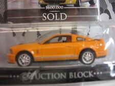 Green Light Barrett Jackson Auction Block 2007 FORD SHELBY GT500  (Hard To Find)