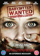Babysitter Wanted NEW PAL Cult DVD Bruce Thomas