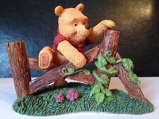 "Disney Winnie The Pooh Simply Pooh Figurine ""Small Steps Make Grand Adventures"""