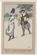 Florence Hardy: Once I Loved a Maiden Fair - Welsh Costume - Faulkner PC (434)