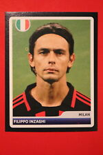 PANINI CHAMPIONS LEAGUE 2006/07 # 122 AC MILAN INZAGHI BLACK BACK MINT!