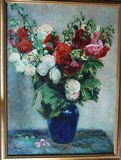 Beyer Anna *1867 Alzey +1922 Darmstadt Hochattraktives leuchtendes Blumenbild!