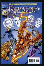 FANTASTIC FIVE #1-5 NEAR MINT COMPLETE SET 1999