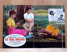 LE DUE INGLESI fotobusta poster affiche Les deux Anglaises François Truffaut