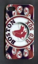 BOSTON REDSOX 1 Piece Glossy Case / Cover for iPhone 4 / 4S (Design 1) + Stylus