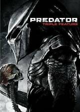 Predator 1 2 3 - Triple Feature (DVD, 2014, 3-Disc Set) NEW