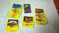 1990 Dick Tracy Trading Cards Dandy Australia Full Set & Wrapper
