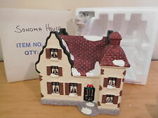 Dept 56 Snow Village - Sonoma House - 1986