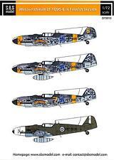 SBS Models Decals 1/72 MESSERSCHMITT Bf-109G-6 FINNISH AIR FORCE