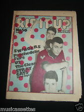 NEW ZEALAND MUSIC MAGAZINE 1981 U2 THE STRAY CATS THE PSYCHEDELIC FURS