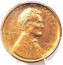 1909-S VDB Lincoln Wheat Cent 1C - PCGS Uncirculated - Rare Date MS BU UNC Penny