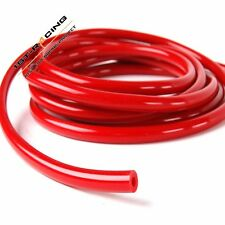 RED SILICONE VACUUM BOOST VAC HOSE PIPE TUBE 3MM ID X 7MM OD 1 foot