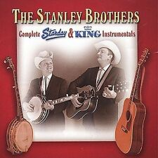 Complete Starday and King Instrumentals by The Stanley Brothers 2 CD set 28 trax