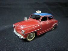 DV4170 DINKY TOYS FR SIMCA 9 ARONDE ELYSEE TAXI 1955/56  ECH 1/43 REF 24UT BE