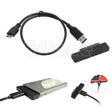 Slim USB 3.0 to 22 Pin SATA 2.5'' SSD Hard Disk Drive HDD Cable Adapter 3Gbps