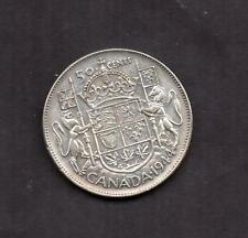 CANADA 1944 SILVER 50 CENT CIRCULATED VERY NICE COIN