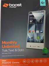 Sharp Aquos (Boost Mobile) 2 FREE months  OF SERVICE INCLUDED!!&FREE Accesories!