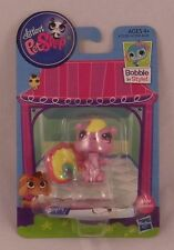 Littlest Pet Shop Squirrel #3580 Pink Rainbow New On Card 2013 Hasbro LPS