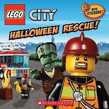 Lego City Ser.: Halloween Rescue! by Trey King (2013, Picture Book)