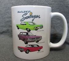 1970 Dodge Dart Swinger 2-Doors Coffee Cup, Mug - New - Classic 1970's - Sharp!