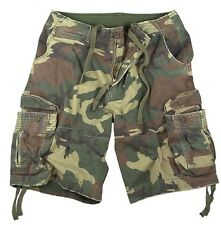 Cargo Shorts Vintage Camo Infantry Utility Military  Rothco
