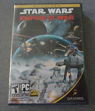 Star Wars: Empire at War  PC CD-ROM  WIN 2000/XP 2006    NEW