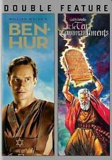 Ben Hur/Ten Commandments New DVD